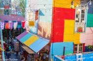 La Boca houses & market, Buenos Aires