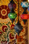 Lamps and carpets near the Grand Bazaar