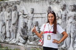 Urban Adventures Guide near Phra Sumeru Fortress