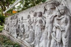 Murals near Phra Sumeru Fortress