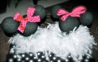 day 41: get crafty/ diy minnie mouse centerpiece, table ...