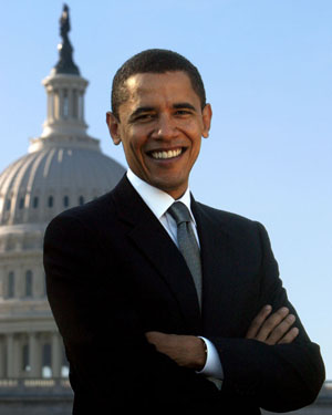 Barack Obama the 44th President of the United States of America
