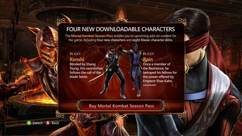 MK9 Skarlet Ready To Draw Blood Plus First Look At Rain