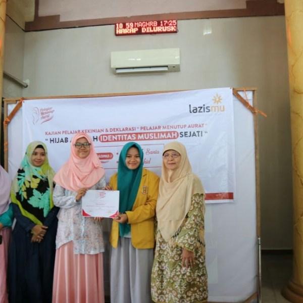 Deklarasikan Gerakan Pelajar Menutup Aurat, IPM Surabaya bentengi Pelajar Perempuan