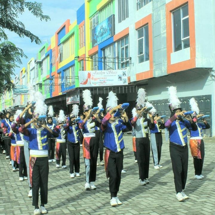 Meriahnya IPM Education Fair 2k17 Dibuka dengan Penampilan Barisan Drumband bak Pelaut
