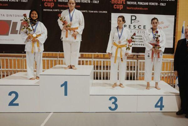 Kader IPM Juara 2 Karate di Italia Beri Pernyataan mengenai Perempuan Penyerang Mako Brimob