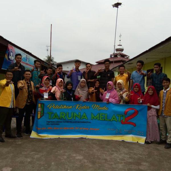 Upaya Regenerasi Kader Muda, PD IPM Deli Serdang Gelar PKTM 2