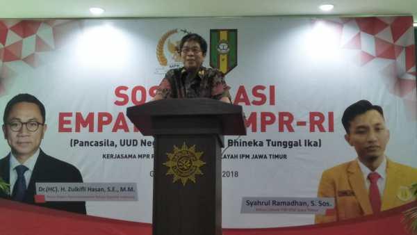 Rajut Kembali Merah Putih, IPM Jatim Gandeng MPR RI Adakan Sosialisasi 4 Pilar