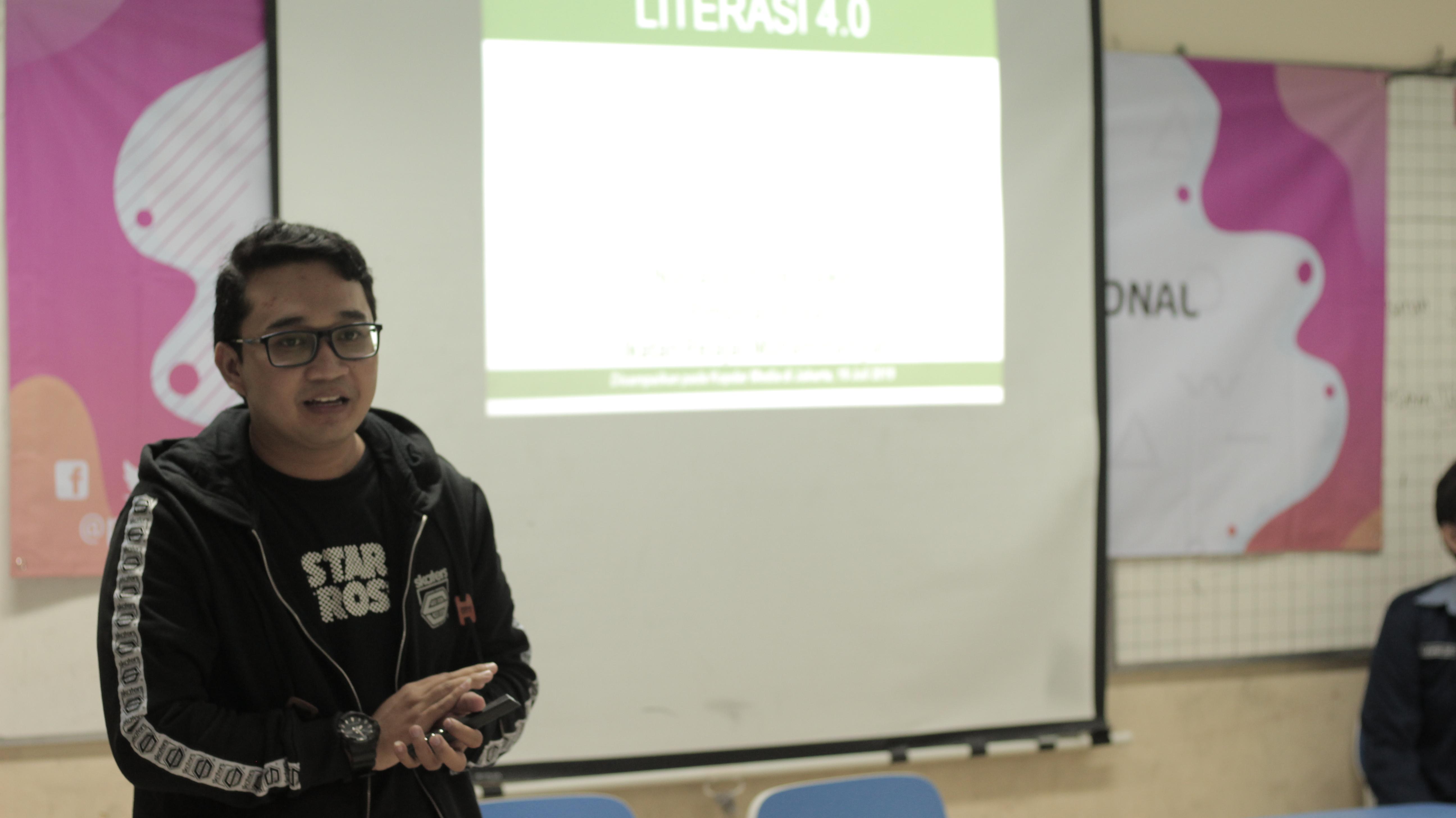 Gugah Peserta, Kopdar Media Angkat Literasi 4.0