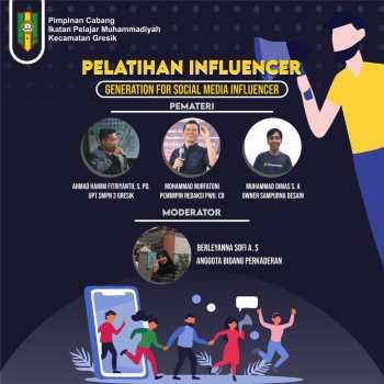 ciptakan-influencer-muda-pc-ipm-gresik-adakan-pelatihan-influencer