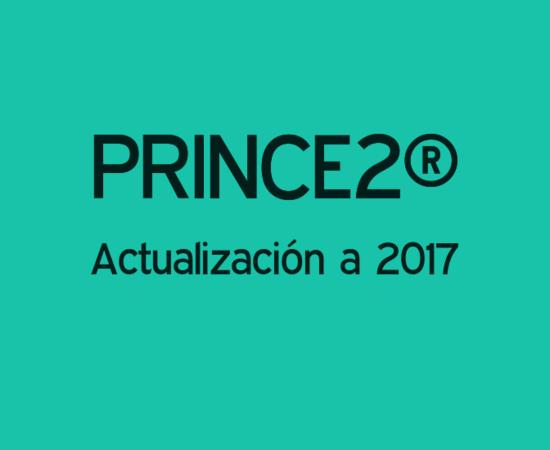 PRINCE2® Actualización a 2017