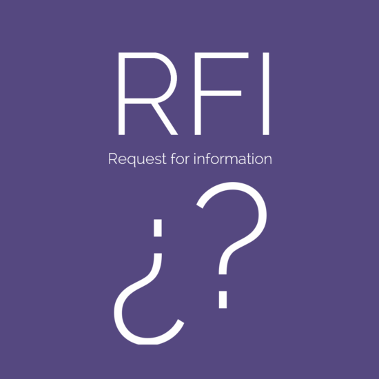 RFI - Request for information01
