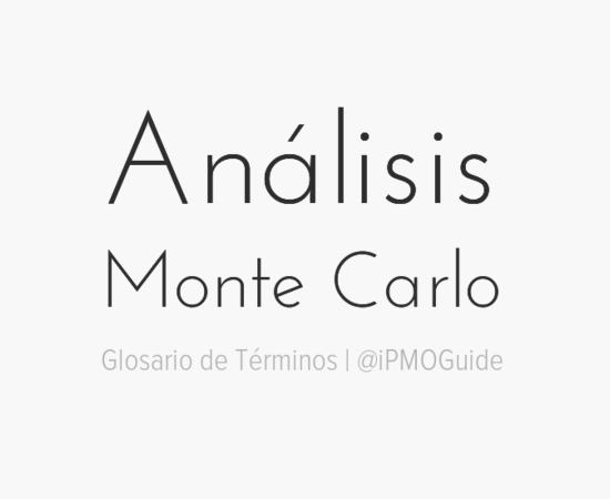 Análisis Monte Carlo