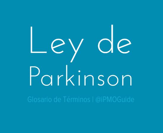 Ley de Parkinson