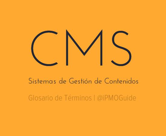 CMS (Sistemas de Gestión de Contenidos)