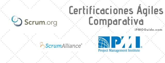 Certificaciones Ágiles, Comparativa