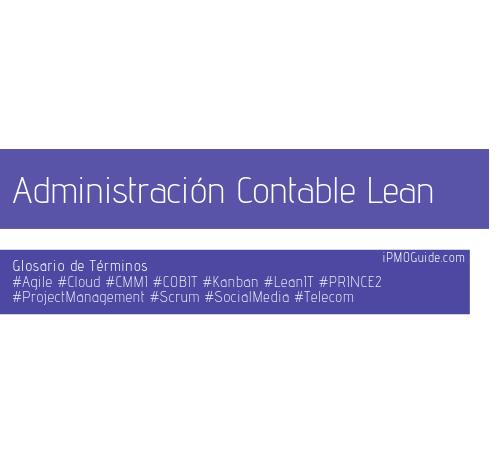 Administración Contable Lean