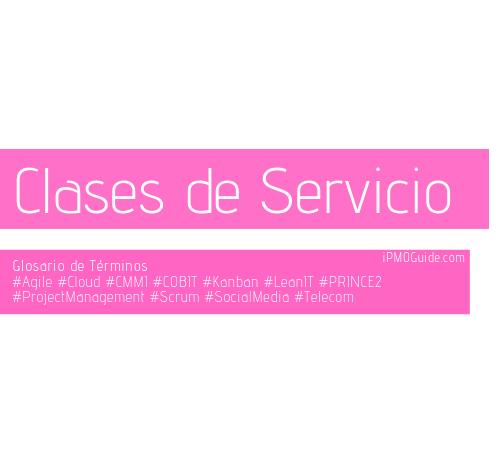 Clases de Servicio