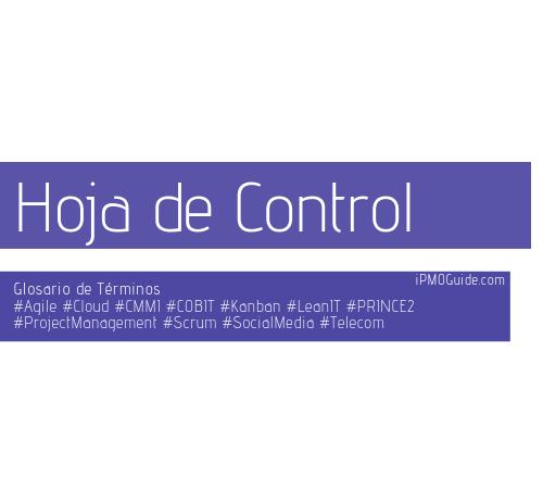 Hoja de Control