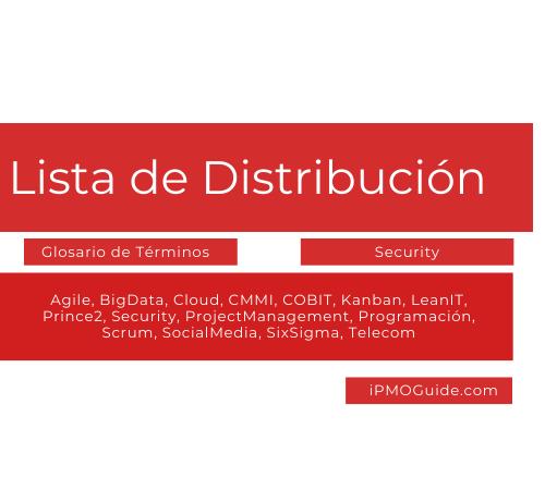Lista de Distribución