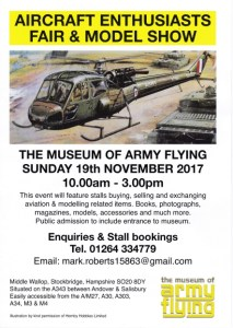Aircraft Enthusiast Fair & Model Show Middle Wallop 2017