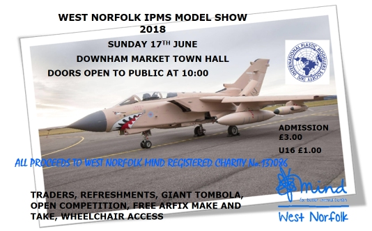 West Norfolk IPMS Annual Model Show 2018