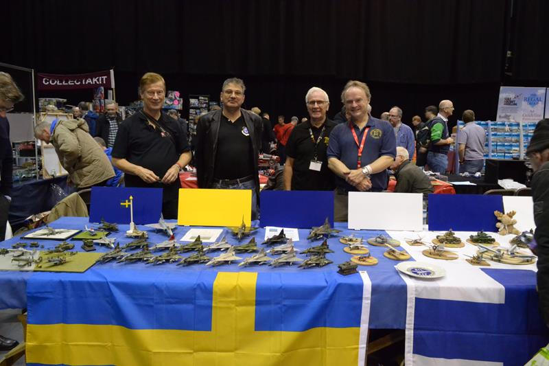 Scale ModelWorld 2017 - Finnish & Swedish SIG - Photo by Andrew Prentis Andrew Prentis - IPMS(UK)