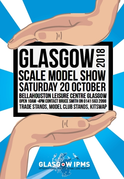 Glasgow Scale Model Show 2018 flyer