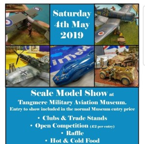 Tangmere Museum Model Show 2019 flyer