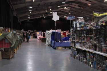 Scale ModelWorld 2016 - Setup - ready for tomorrow - Photo John Tapsell