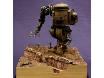 Class 85 Gold & Gerry Anderson Trophy  - 1917 Mark IV Alternate Reality Tank by Stefano Marchetti