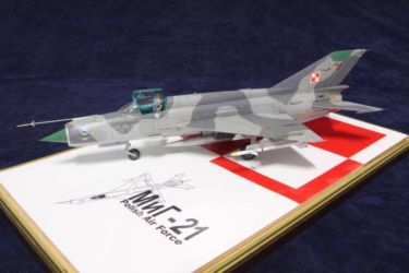 Polish Air Force MiG 21MF photo by JohnTapsell