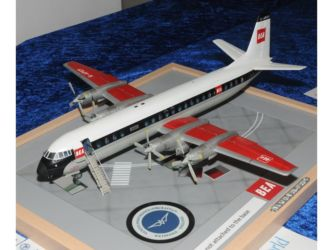 Class 09 Gold, Aviation Hobby Shop, Geoff Sullivan - & British Aerospace Trophies - Vickers Vanguard by Kevin Payne