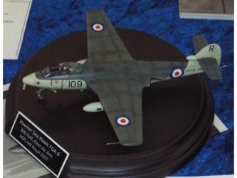 Four Plus Trophy - Hawker Sea Hawk FGA.6 by Glen Woodruff Photo Glen Woodruff