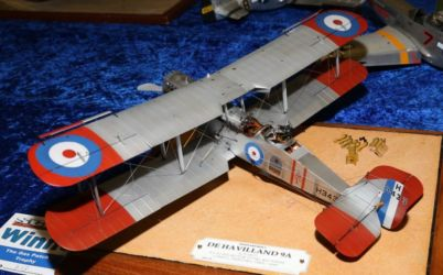 Trophy - The Gas Patch Trophy - Westland built DH9A by Bill van Heerden , photo by Ashley Keates