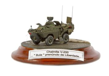 Class 36 Gold, Inside The Armour Best Military Scratch Built Award, IPMS Staffordshire Moorlands Trophy - V- 200 Chaimite by Fernando Dias