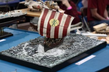 Scale ModelWorld 2016 pics by Adrian Constable (17) - Farnborough Viking Ship