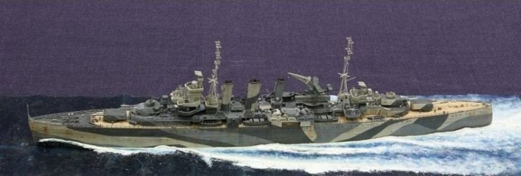 2015 Best Ship & Airbrush Heaven Award - Class 62 - HMS Sussex by Richard Price