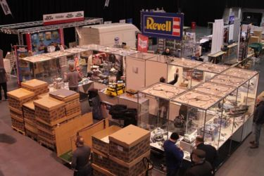 Scale ModelWorld 2016 - Setup - Revell stand - Photo John Tapsell