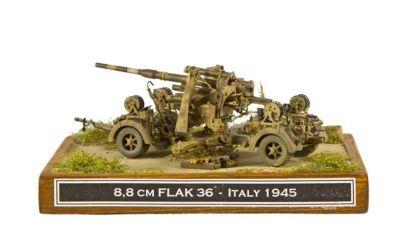 Class 45 Gold - 8.8 cm Flak 36 by Ladislav Lacina