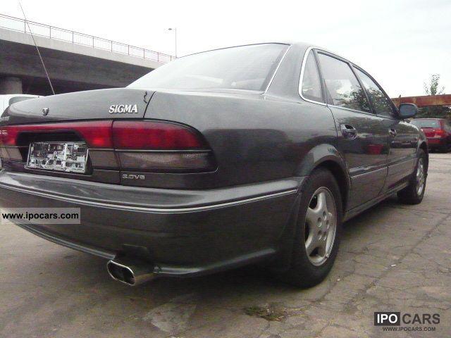 1991 Mitsubishi Sigma 3000 V6 12V - Car Photo and Specs