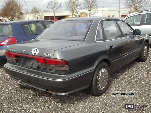 1992 Mitsubishi Sigma 3000 V6 12V. ABS. power. LF. electric UAS. Aut. - Car Photo and Specs