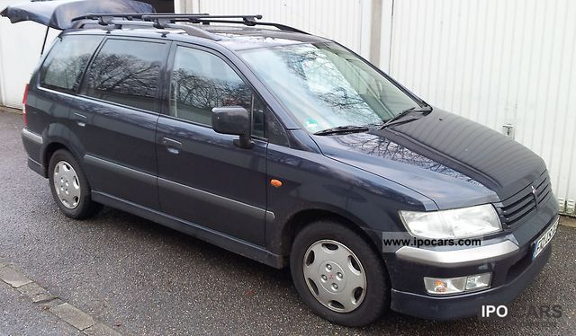 2002 Mitsubishi Space Wagon GDI Motion  Car Photo and Specs