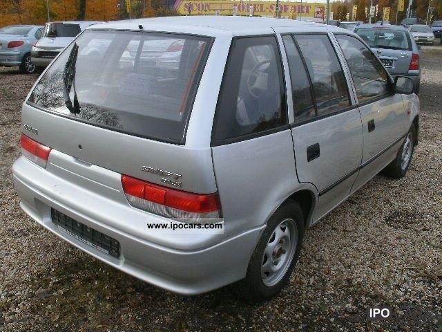 2001 Suzuki Swift 1 0 Climate Car Photo And Specs