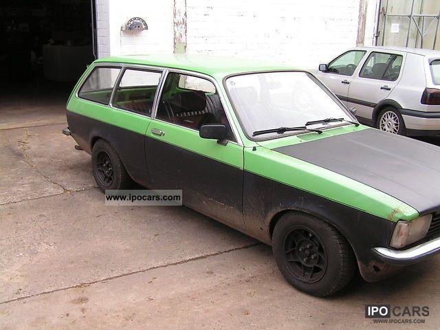 1980 Opel Cadet Car Photo And Specs