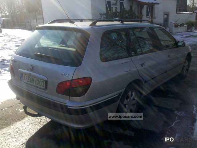 2003 Peugeot 406 Break 2 0 Hdi 110 St Confort Pack Car Photo And Specs