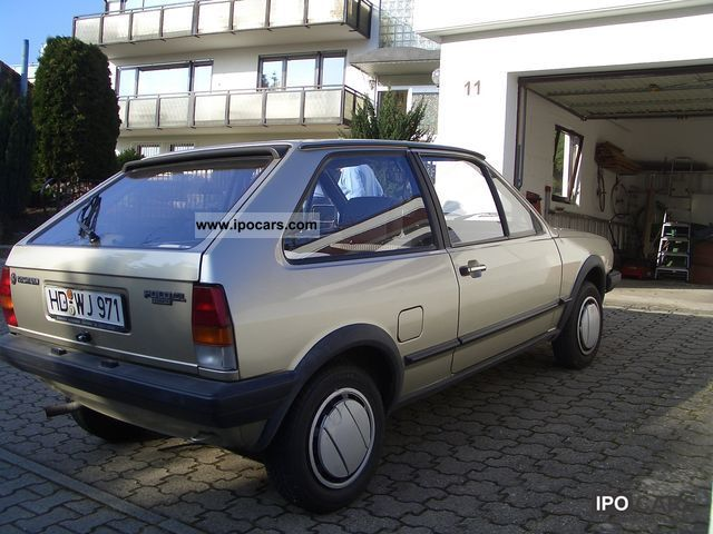 1989 Volkswagen Polo Cl Car Photo And Specs