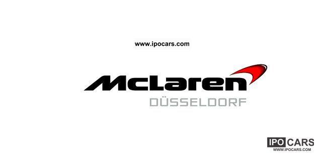 2012 McLaren Dusseldorf. Volcano Orange 12C. Available now