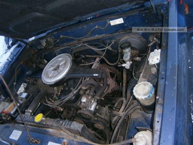 1984 Isuzu Trooper Engine