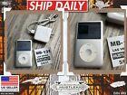 Genuine Apple iPod Classic Video/Color Screen 7th Generation 80gb Silver A1238❄️